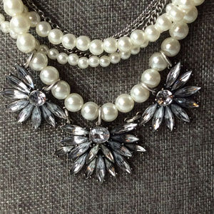 SUGARFIX By BAUBLEBAR ROCKER CHIC LAYERED NECKLACE